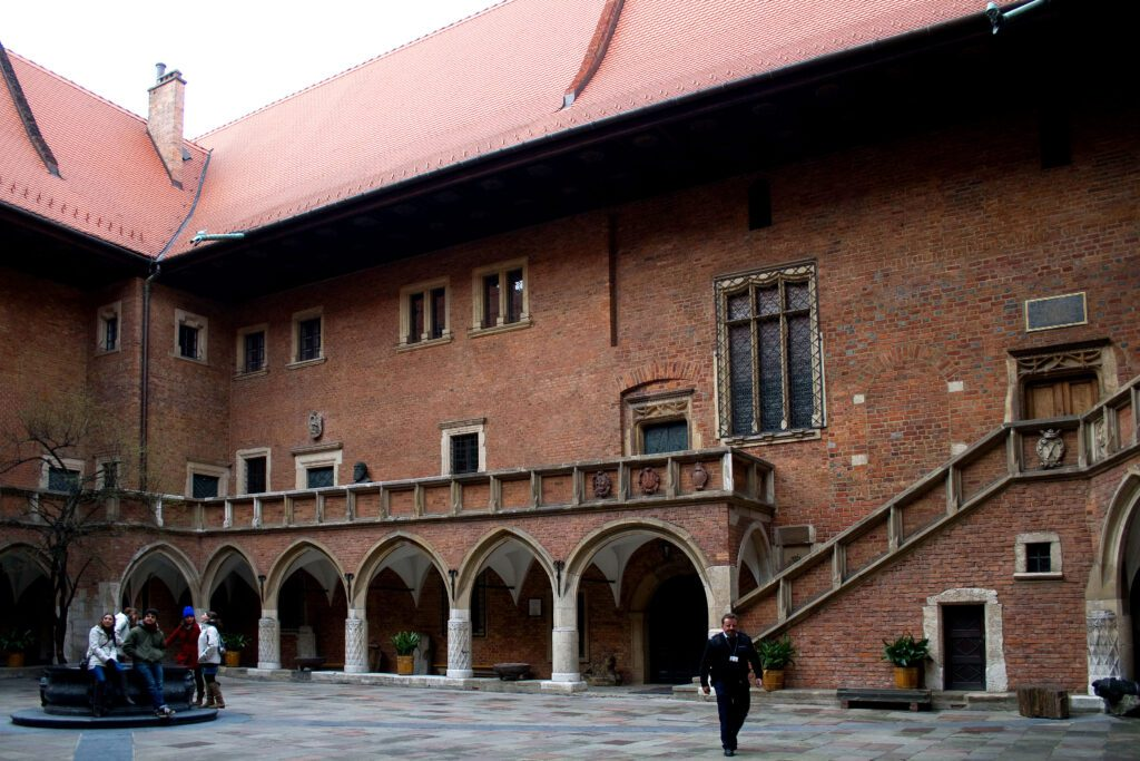 Cracovia, important in the biography of Copernicus