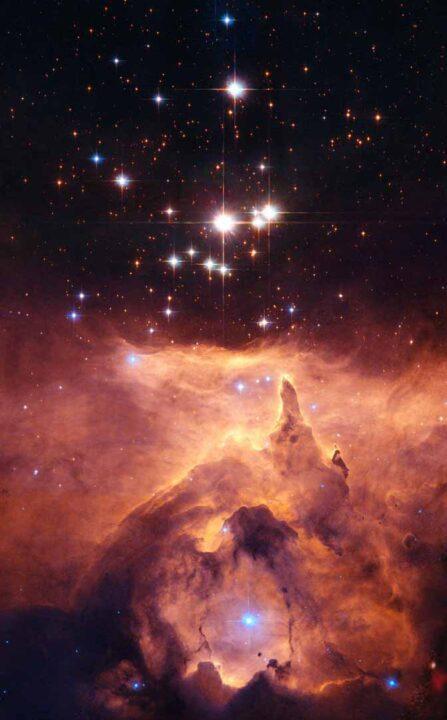 Star NGC 6357