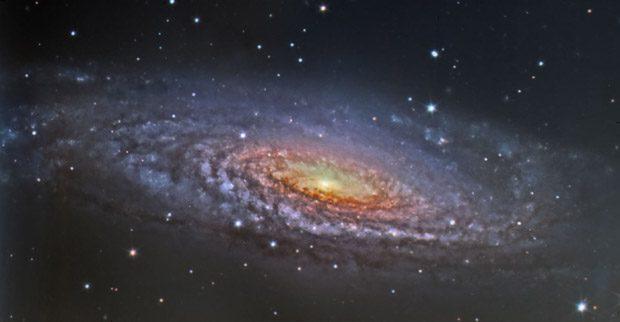 Galaxy NGC 7331. Star Galaxy
