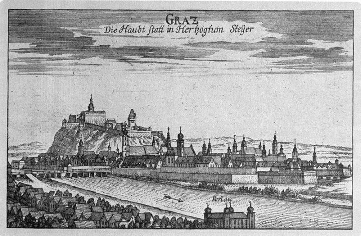 Graz. Biography of Johannes Kepler