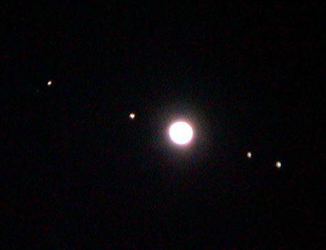 Jupiter 4 satellites