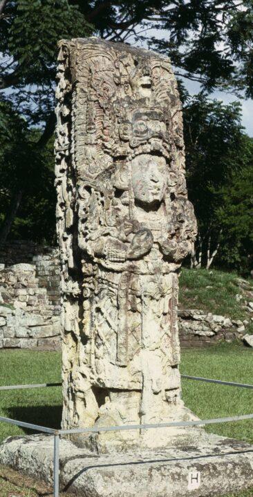 Maya estela 10