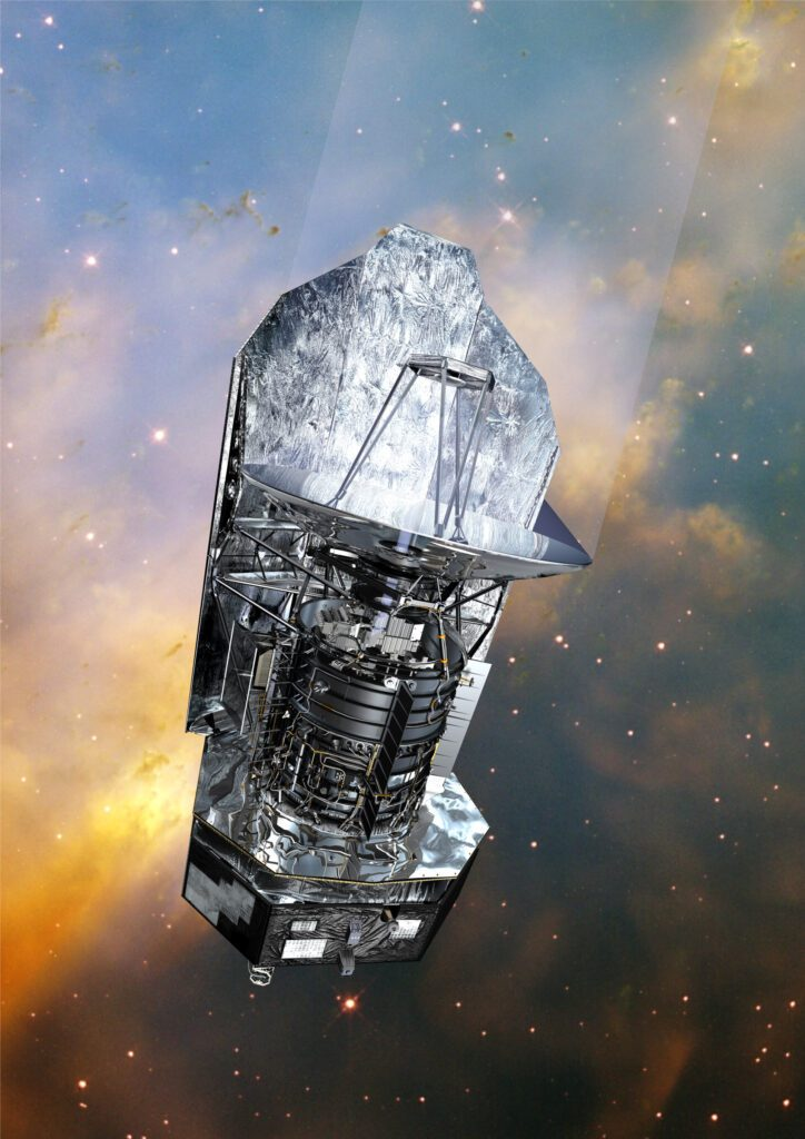 Herschell telescope. Space telescopes