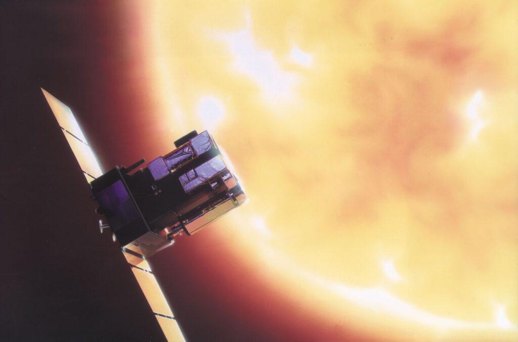 SOHO 2 Space telescopes