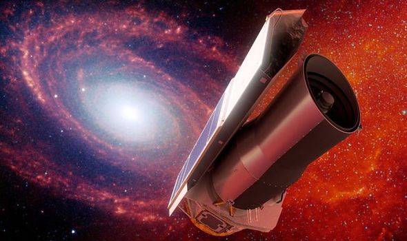 Spitzer Space telescopes