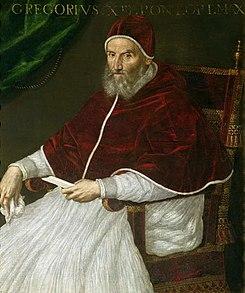 Pope Gregory XIII, Gregorian calendar Julian calendar