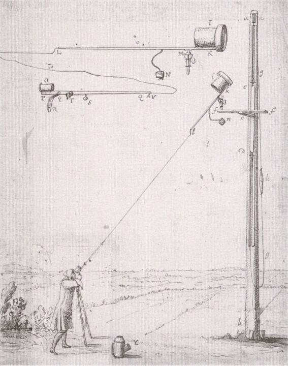 Telescope. Biography of Christiaan Huygens