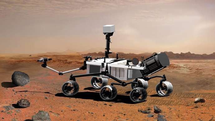 Curiosity. Planet Mars exploration