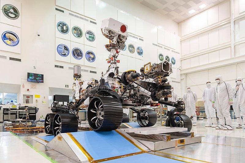 Perseverance. Planet Mars exploration