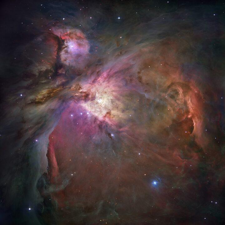 Orion Nebula. Biography of Christiaan Huygens