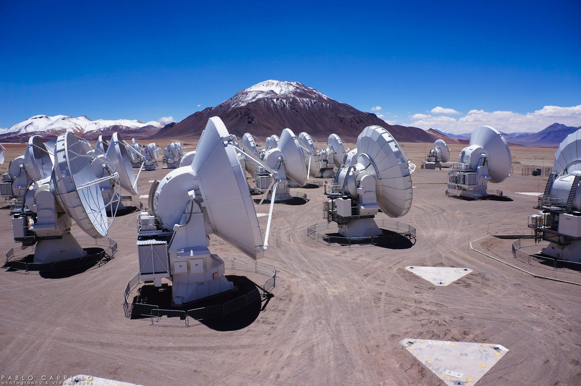 ALMA mayor telescopio del mundo