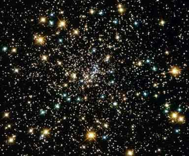 Cúmulo globular. La teoría del Big Bang