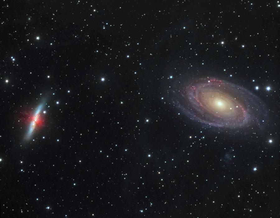 M81 M82. La teoría del Big Bang