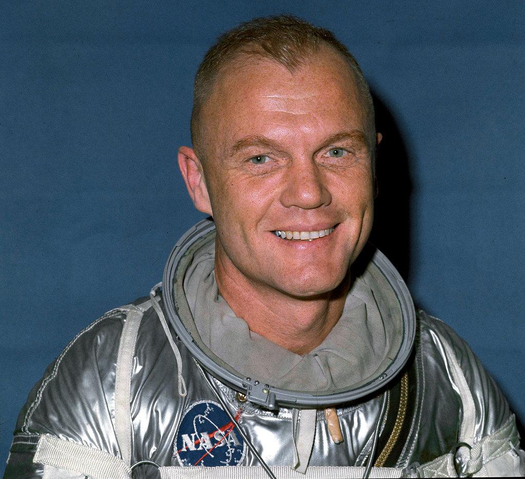 John Glenn NASA Administración Nacional de Aeronáutica y del Espacio