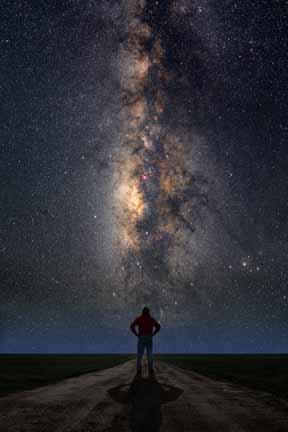 Vía Lactea asombra