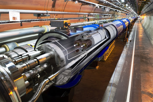 LHC. When human was born