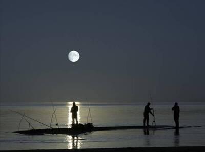 Luna pescadores