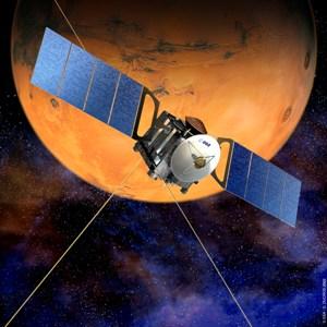 Mars Express proyecto de la Agencia Espacial Europea