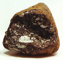 Meteorite Moon