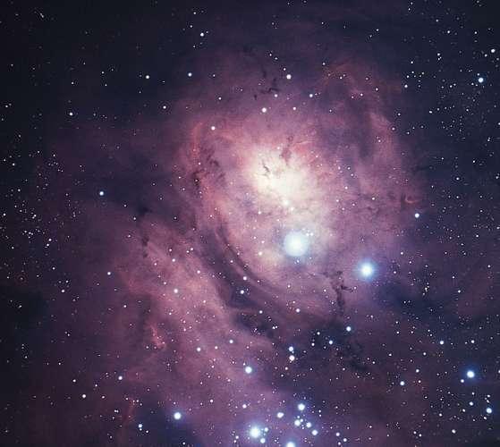 Nebulosa Laguna una de las nebulosas en las galaxias