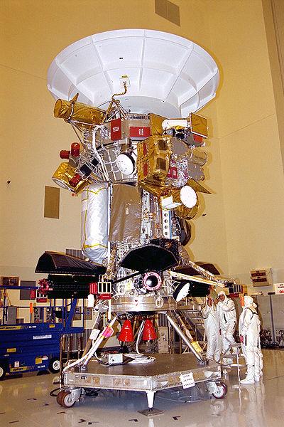 sonda espacial cassini huygens