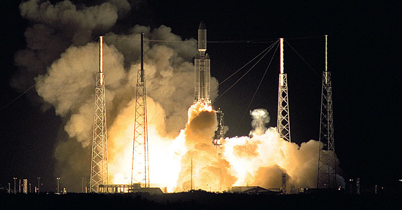 Lanzamiento Cassini