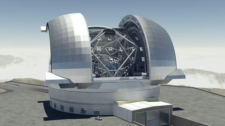 ELT. Los telescopios