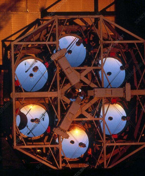 mmt. Los telescopios