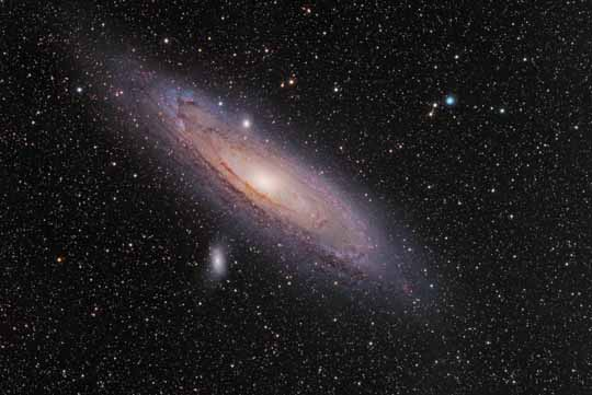 Andrómeda. Los telescopios espaciales
