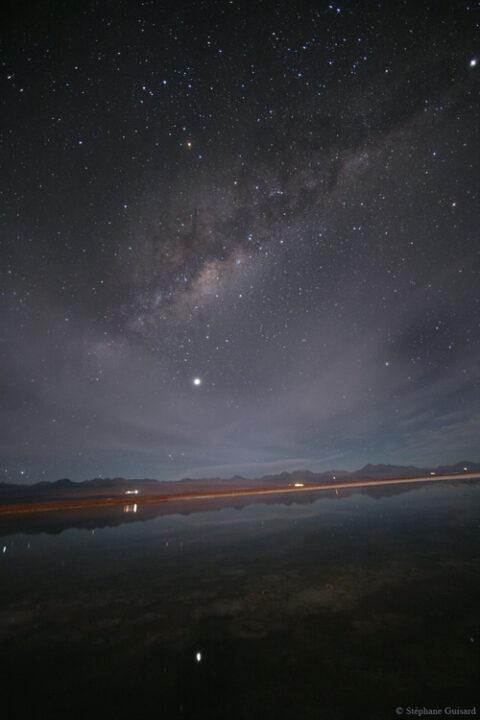 Laguna Chile. Chile country of telescopes