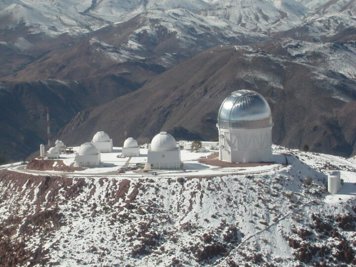 Tololo. Chile country of telescopes