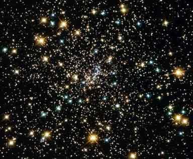 Cúmulo de las estrellas del Universo