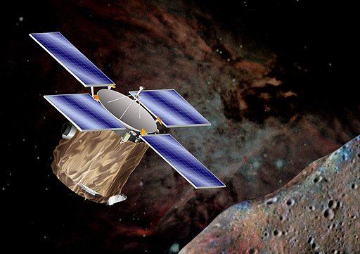 NEAR y el asteroides Eros
