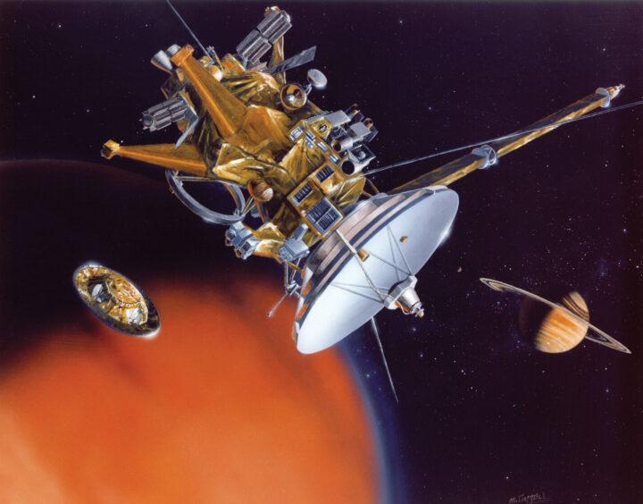 Sonda Huygens en honor a Huygens astrónomo holandés