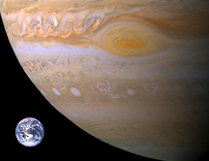 Júpiter Tierra