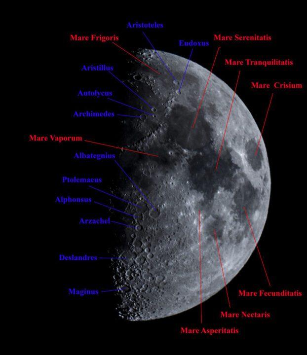 Luna cráteres