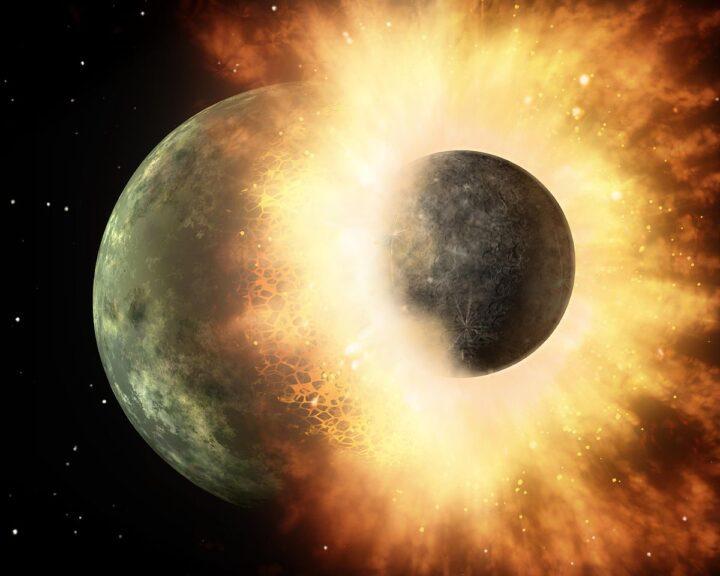 Luna colisión