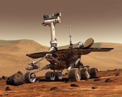 Robots en Marte