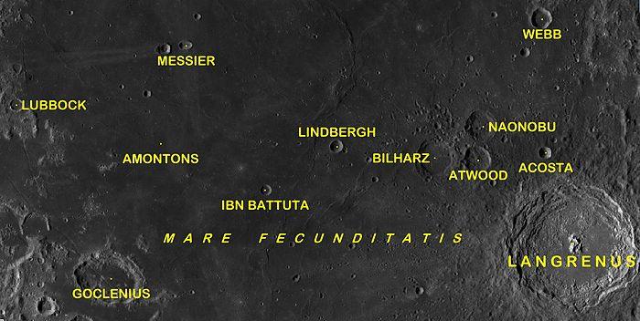 Cráteres Messier