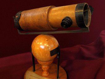 Newton telescopio, Los telescopios ópticos