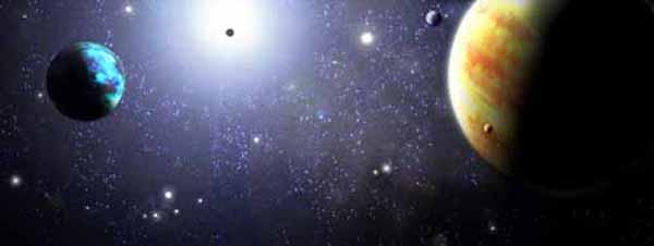 Planetas admirados por Copérnico astrónomo polaco