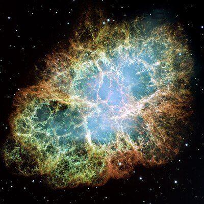 Púlsar. Los púlsares provienen de supernovas
