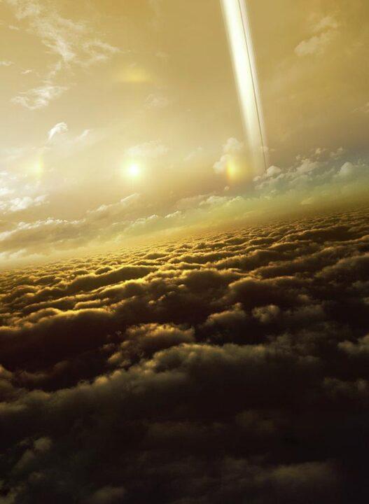 Nubes aturno