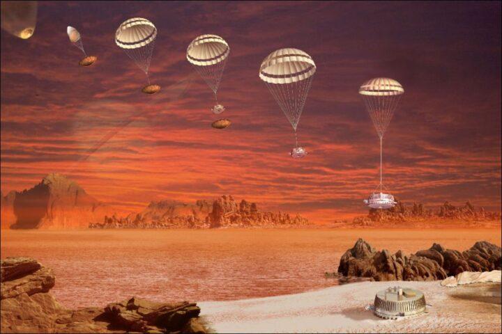 Aterrizando en Titán