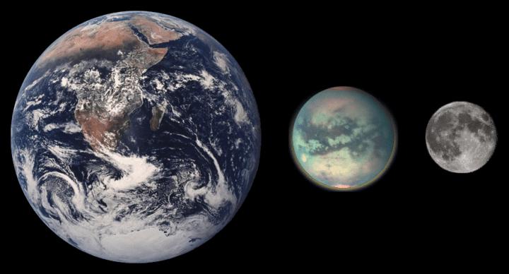 Titán tierra luna. Titán luna de Saturno