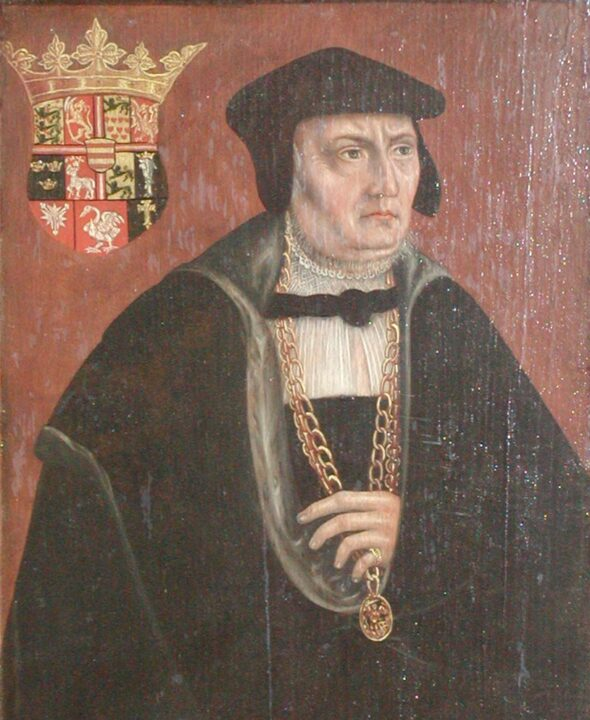 Federico I protegió a  Tycho Brahe astrónomo