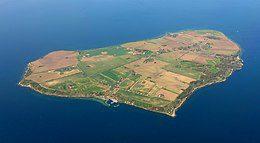 Isla Hven propiedad de  Tycho Brahe astrónomo