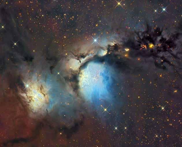 Atomos nebulosas